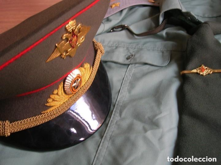 Militaria: UNIFORME COMPLETO DE VERANO DE GENERAL RUSO. FEDERACIÓN RUSA. AÑOS 90-2000. - Foto 10 - 127615107