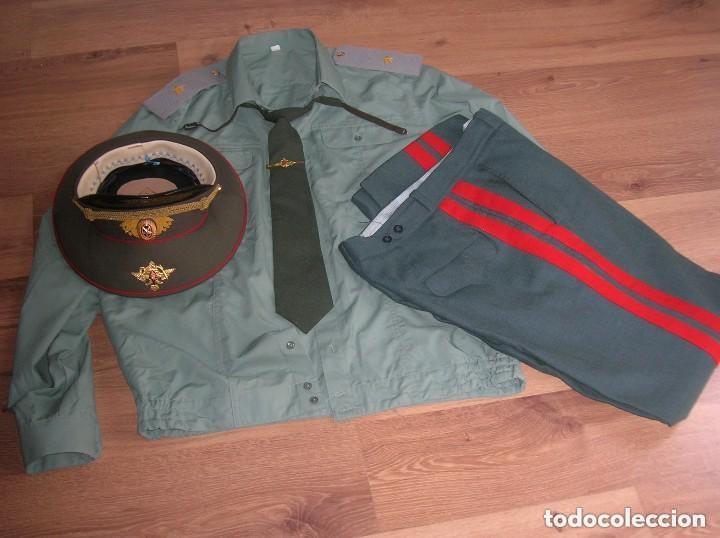 Militaria: UNIFORME COMPLETO DE VERANO DE GENERAL RUSO. FEDERACIÓN RUSA. AÑOS 90-2000. - Foto 11 - 127615107
