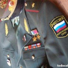Militaria: EXCEPCIONAL UNIFORME COMPLETO DE GENERAL RUSO. RUSIA AÑOS 90. FEDERACIÓN RUSA. DIFICIL DE ENCONTRAR,. Lote 127922983