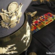Militaria: UNIFORME COMPLETO DE CORONEL MUY CONDECORADO USAF. EPOCA DE LA GUERRA DE VIETNAM. 100% ORIGINAL USA.. Lote 128593023