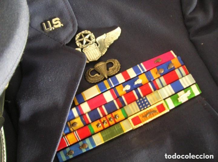 Militaria: UNIFORME COMPLETO DE CORONEL MUY CONDECORADO USAF. EPOCA DE LA GUERRA DE VIETNAM. 100% ORIGINAL USA. - Foto 5 - 128593023