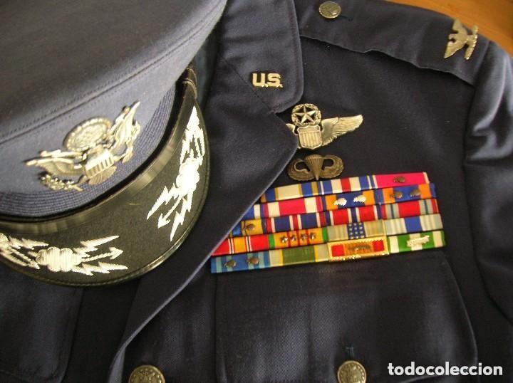 Militaria: UNIFORME COMPLETO DE CORONEL MUY CONDECORADO USAF. EPOCA DE LA GUERRA DE VIETNAM. 100% ORIGINAL USA. - Foto 7 - 128593023