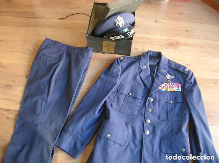 Militaria: UNIFORME COMPLETO DE CORONEL MUY CONDECORADO USAF. EPOCA DE LA GUERRA DE VIETNAM. 100% ORIGINAL USA. - Foto 10 - 128593023