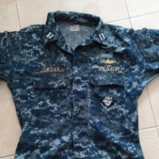 Militaria: GUERRERA Y PANTALON DE OFICIAL DE LA NAVY, EJERCITO DE LOS EE.UU.. Lote 128742795