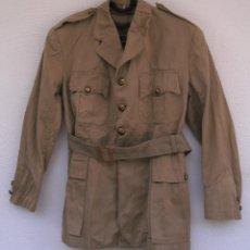 Militaria: GUERRERA DE VERANO GRIEGA, AÑOS 40-50, ALGODÓN, ESTILO BRITÁNICO TROPICAL M1937.DE OFICIAL.. Lote 131072988