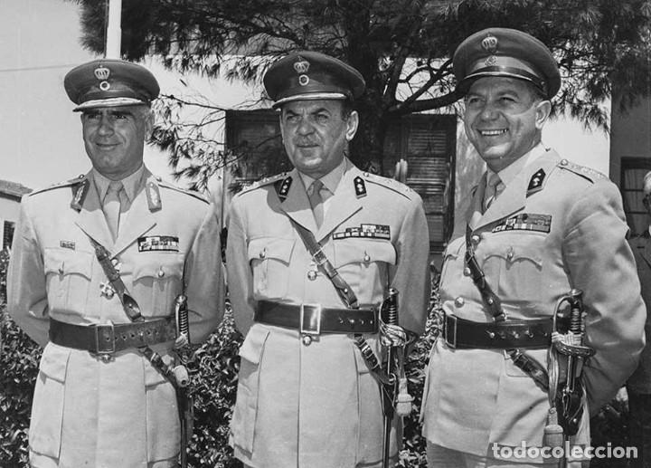 Militaria: GUERRERA DE VERANO GRIEGA, AÑOS 40-50, ALGODÓN, ESTILO BRITÁNICO TROPICAL M1937.DE OFICIAL. - Foto 6 - 131072988