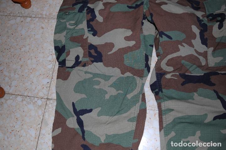 Militaria: US ARMY Y MARINES. PANTALON WOODLAND. TALLA GRANDE. NUEVO - Foto 4 - 131634918