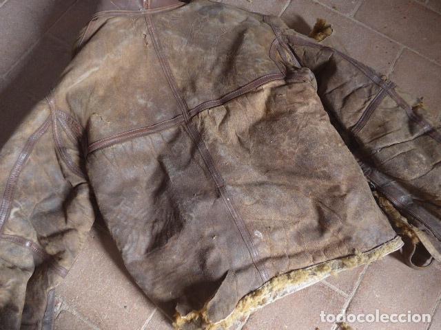 Militaria: Antiguo pantalon y cazadora vuelo de piloto aviador de la RAF inglesa de II guerra mundial, original - Foto 29 - 132013430