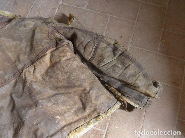 Militaria: Antiguo pantalon y cazadora vuelo de piloto aviador de la RAF inglesa de II guerra mundial, original - Foto 30 - 132013430