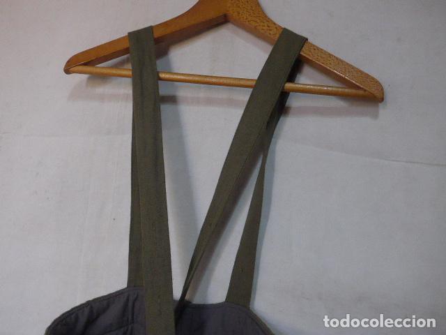 Militaria: Antiguo pantalon muy grueso de la URSS comunista, original. Tipo aviador. - Foto 8 - 132986670