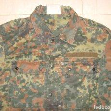 Militaria: CHAQUETA MILITAR ALEMANA DE CAMUFLAJE , TALLA L AÑOS 90. Lote 137390146