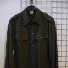 Militaria: CAMISA EJERCITO ALEMAN ORIGINAL VERDE TALLA S A XL. Lote 140446101