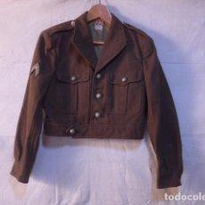 Militaria: ANTIGUA GUERRERA CORTA TIPO BATTLE DRESS, ORIGINAL. INFANTERIA FRANCESA, 1959. FRANCIA.. Lote 138879742