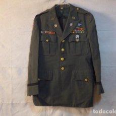 Militaria: UNIFORME ORIGINAL DE AYUDANTE D GENERAL AMERICANO. GUERRA COREA Y VIETNAM, 1956. GUERRERA Y PANTALON. Lote 138891778