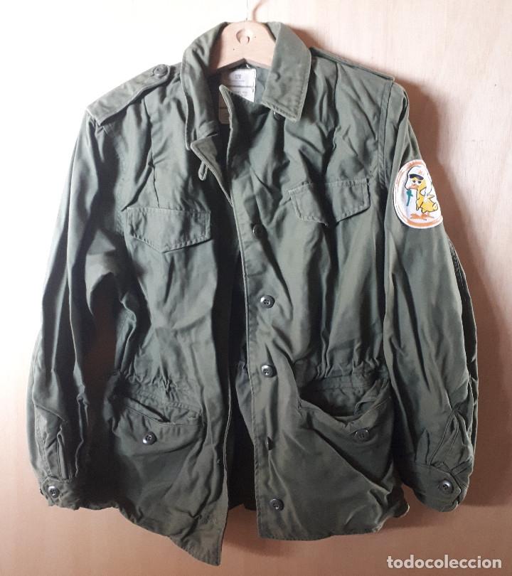 CHAQUETÓN, 12-R, PEQUEÑO, DSA, USA-VIETNAM (Militar - Uniformes Extranjeros )