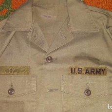 Militaria: CAMISA VERDE US ARMY . Lote 142961270