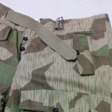 Militaria: PANTALON ALEMAN CAMO SPLINTER PARA HEER O WEHRMACHT MODELO STUG TALLA 46 NUEVO A ESTRENAR . Lote 142962186