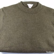 Militaria: JERSEY JERSEI SUETER SWETER ORIGINAL EJERCITO BELGA O FRANCES 1949 IDEAL RECONSTRUCTORES. Lote 143298394