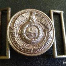 Militaria: WAFFEN XX KOPPELSCHLOSS FÜR FÜHRER. Lote 144054602