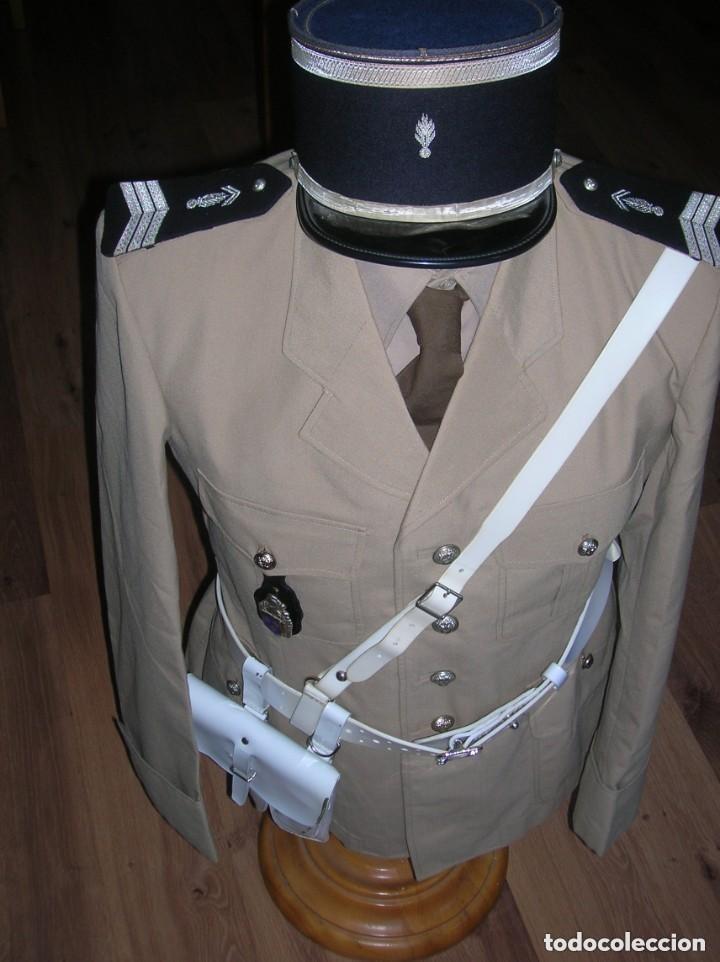 Militaria: UNIFORME COMPLETO DE GENDARME. AÑOS 70. GENDARMERIA FRANCESA. SAINT TROPEZ. MEHARI. - Foto 3 - 146185330
