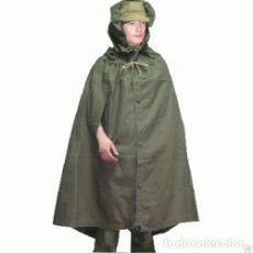 Militaria: CAPA MILITAR, CAPO MILITAR, PONCHO, TIENDA DE CAMPAÑA URSS, RUSO, SOVIÉTICO.. Lote 182080375
