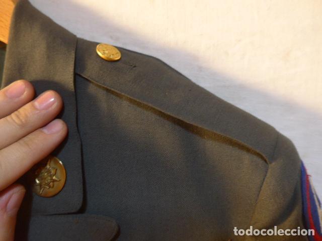 Militaria: Antigua guerrera americana de oficial, original, con sus parches. Estados Unidos. guerra vietnam. - Foto 7 - 147653202