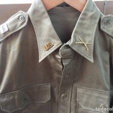 Militaria: CAMISA US ARMY KOREA. TALLA L. CON MARCAJES. CAPITÁN 1954. USA EJÉRCITO AMERICANO. VIETNAM. Lote 148066338