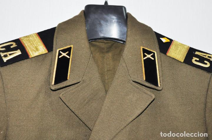 Militaria: Chaqueta militar sovietica .Para sergento .Infanteria.Talla -48 .1974 a URSS - Foto 2 - 151706006