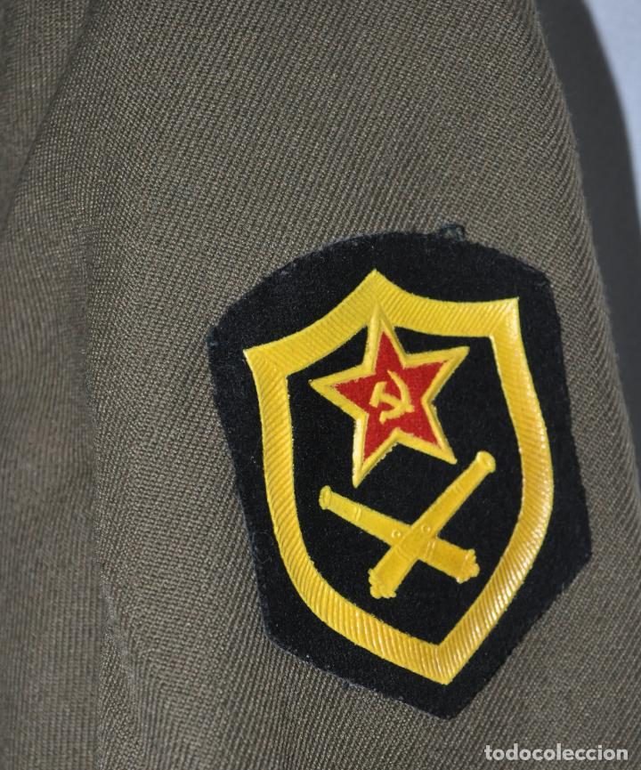 Militaria: Chaqueta militar sovietica .Para sergento .Infanteria.Talla -48 .1974 a URSS - Foto 3 - 151706006