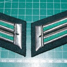 Militaria: PARCHE DE CUELLO ALEMAN PARA OFICIAL DE LA POLICIA. Lote 152295698