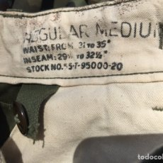 Militaria: PANTALÓN ORIGINAL US ARMY KOREAN WAR. GUERRA DE COREA. USA EEUU. Lote 152553180