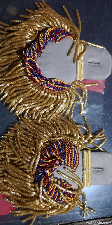 Militaria: Hombreras de gran gala, modelo prusiano, país a identificar - Foto 3 - 153071762