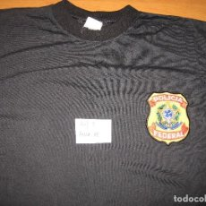 Militaria: CAMISETA POLICIA FEDERAL BRASIL. Lote 202600443