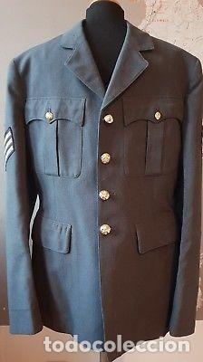 WW2. INGLATERRA. GUERRERA SARGENTO RAF. APROX. 1945 (Militar - Uniformes Internacionales)