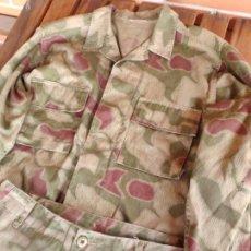 Militaria: UNIFORME MONTAÑERO ALEMÁN CAMUFLAJE SUMPFTARNMUSTER O TAN-WATER,. Lote 155874150