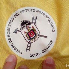 Militaria: CHAQUETA CUERPO DE BOMBEROS DEL DISTRITO METROPOLITANO QUITO (ECUADOR). Lote 156713034