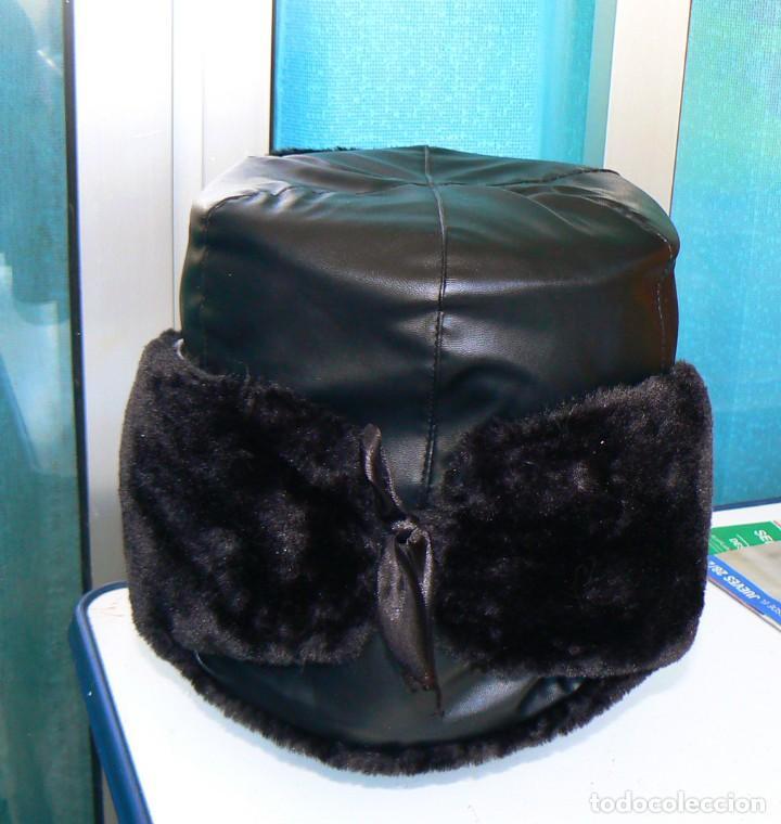 Militaria: gorra de invierno oficial de la flota norte de Rusia. - Foto 5 - 175994583