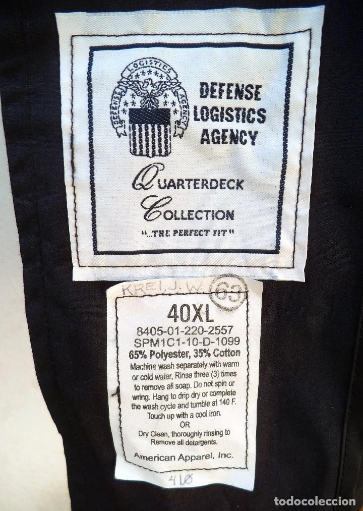 Militaria: Abrigo impermeable americano de la us navy - Foto 4 - 158278690