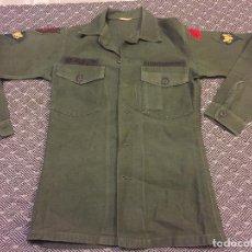 Militaria: CAMISA USA GUERRA DE VIETNAM PARCHE BIG RED ONE. Lote 160279446