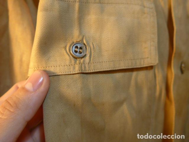 Militaria: Antigua camisa americana de oficial, original, con sus parches. Estados Unidos. II guerra o vietnam? - Foto 10 - 160731762