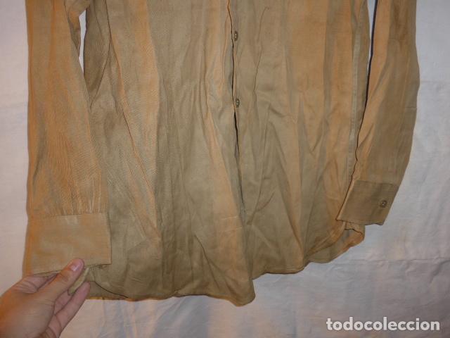 Militaria: Antigua camisa americana de oficial, original, con sus parches. Estados Unidos. II guerra o vietnam? - Foto 12 - 160731762