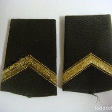 Militaria: HOMBRERAS RUSAS COLOR VERDE. Lote 161579510