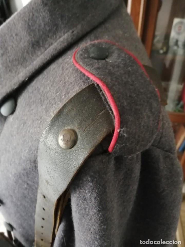Militaria: Luftwaffe abrigo original Segunda guerra Mundial con bayoneta, mascara de gas, cartucheras y más. - Foto 3 - 161883050