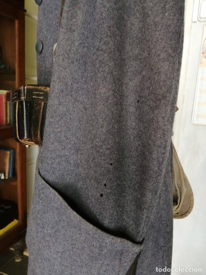 Militaria: Luftwaffe abrigo original Segunda guerra Mundial con bayoneta, mascara de gas, cartucheras y más. - Foto 9 - 161883050