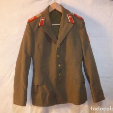 Militaria: ANTIGUA GUERRERA DE SARGENTO DE TROPAS DE INFANTERIA MOTORIZADA DE LA URSS COMUNISTA. ORIGINAL.. Lote 161923834
