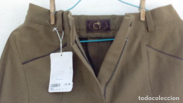 Militaria: Pantalón de montar, breeches, Club Interchase, talla 42, a estrenar. - Foto 2 - 163514094