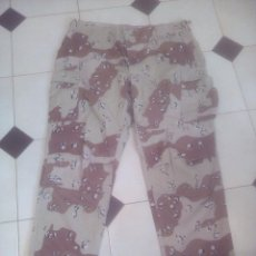 Militaria: PANTALON US ARMY ORIGINAL EN 6 COLORES, CAMO CHOCOLATE CHIP1ª GUERRA DEL GOLFO. Lote 164081730