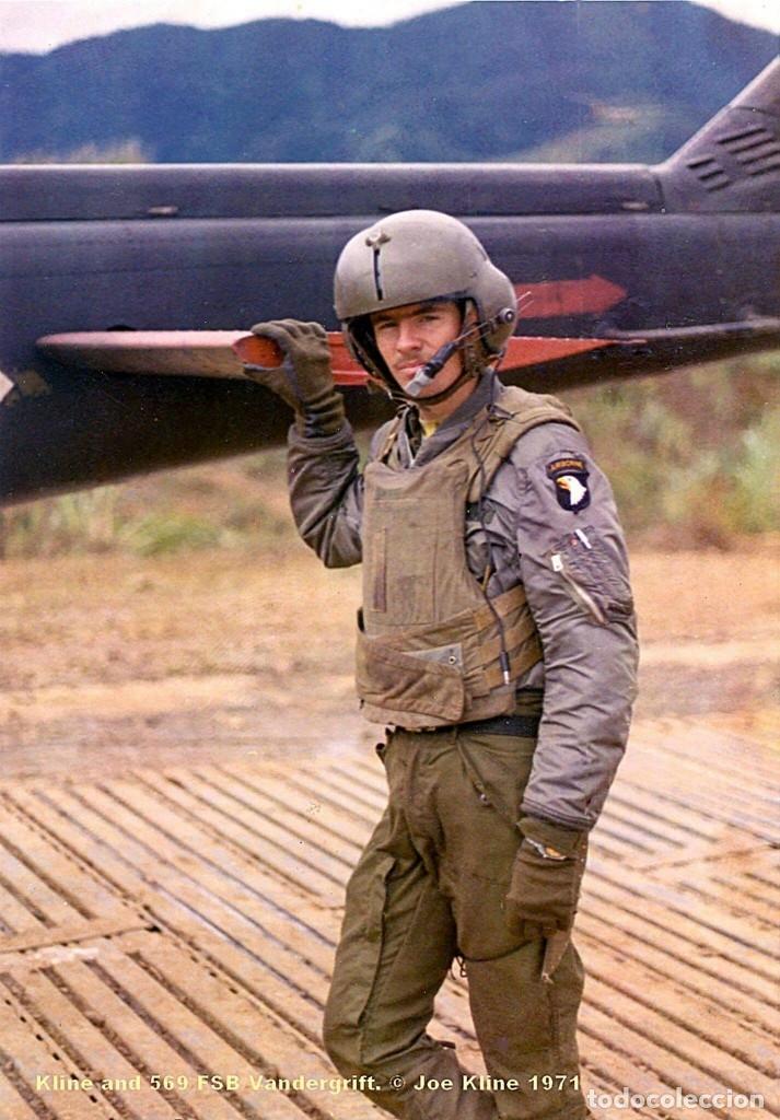 Militaria: Pantalones Piloto Tripulación Helicóptero Huey US Army Vietnam 1968 - Foto 11 - 164320250