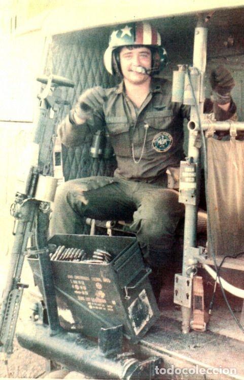 Militaria: Pantalones Piloto Tripulación Helicóptero Huey US Army Vietnam 1968 - Foto 12 - 164320250