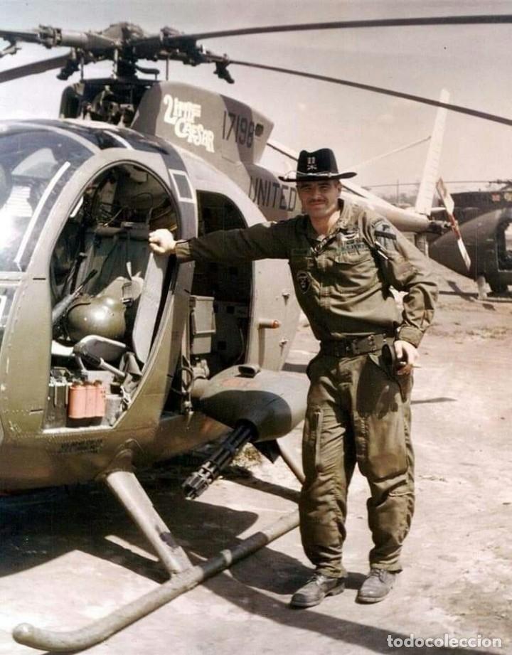 Militaria: Pantalones Piloto Tripulación Helicóptero Huey US Army Vietnam 1968 - Foto 13 - 164320250